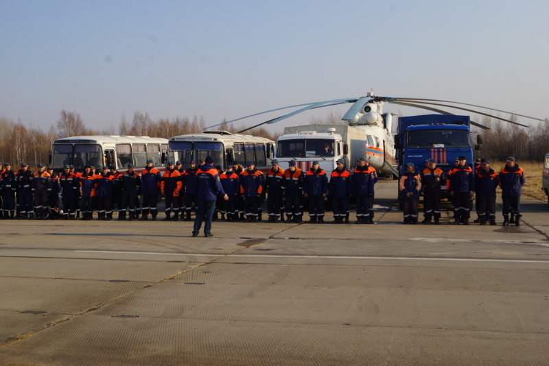 Far Eastern Regional Search and Rescue Unit of the Russian Emergencies Ministry celebrates its 28th anniversary