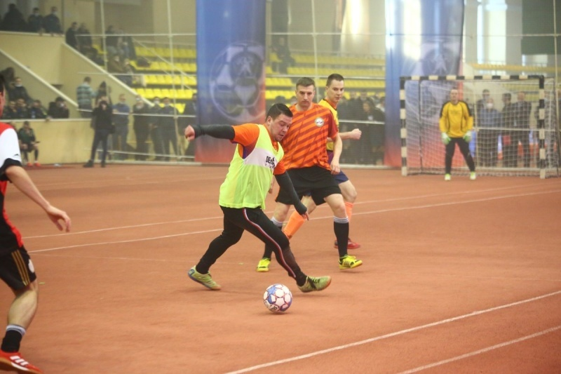 State-Secretary and Deputy Minister of Emergencies of Russia Alexey Serko took part in the XXVII international charity mini-football tournament