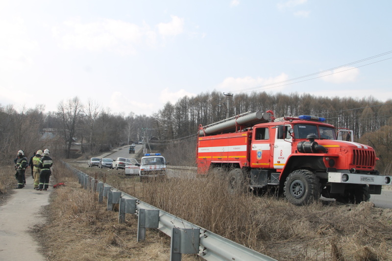 The Ministry of Emergency Situations of Russia intensifies the work on prevention the counter fire of dry vegetation