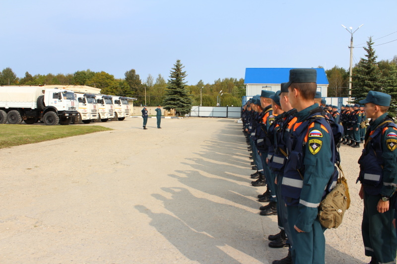 The Tula Rescue Center EMERCOM of Russia has been on duty for 56 tears